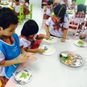 กิจกรรมการเรียนรู้ Learning by Doing! Making a Sandwich
